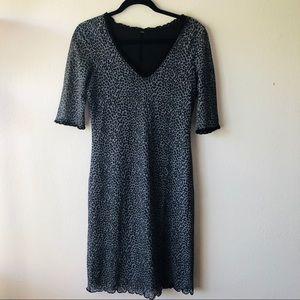 Dresses & Skirts - Cheetah dress Gray & Black Size Large